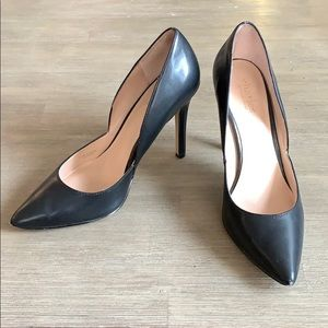 Charles by Charles David Black Leather Pumps